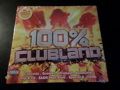 4 Disc Cd Album - 100% Clubland - New And Sealed