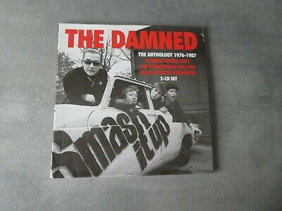 The Damned ‎– Smash It Up. The Anthology 1976-1987 double promo cd album punk ne