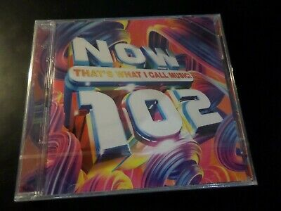 Cd Double Album - Now Thats What I Call Music 102 - New And Sealed