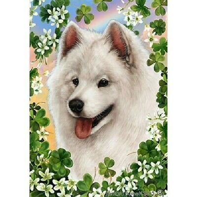 Clover House Flag - Samoyed 31077