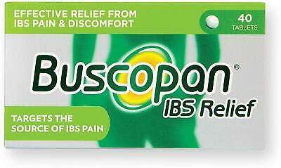 Buscopan IBS Relief Relaxing Muscle Pain Abdominal Cramps & Spasms 40 Tablets