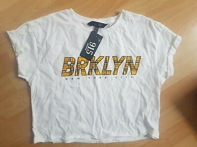 BNWT Girls New Look 915 T-shirt Age 12 To 13 Years