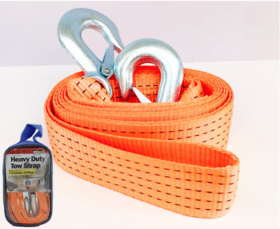 Tow Strap  Heavy Duty 4.5 Tonne Breakdown Recovery Towing Rope 3.5M SWTB45