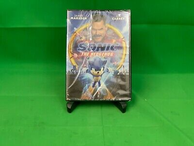 Sonic The Hedgehog (DVD) NEW. No slipcover.