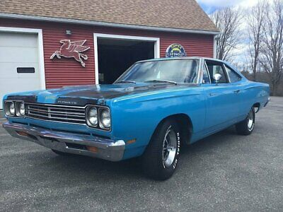1969 Plymouth Road Runner Coupe 1969 Plymouth Road Runner Petty Blue in Barn Survivor Original RARE