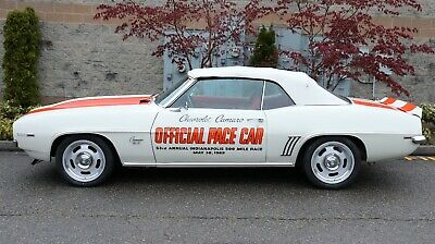 1969 Chevrolet Camaro Indy 500 Pace Car Pro-touring Convertible 1969 Chevrolet Camaro RS/SS Indy 500 Pace Car Pro-touring Convertible