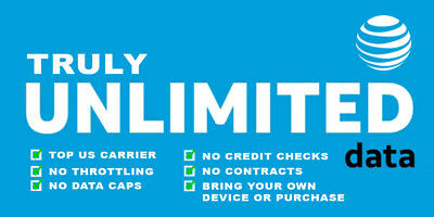 Unlimited Att 4G Lte Hotspot Data ! Instant Activation | $75 | Resellers Wanted!