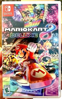 Mario Kart 8 Deluxe For Nintendo Switch (Physical Game) - Nintendo Switch - NEW