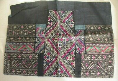 Chinese Miao People's old  Hand Embroidery Apron