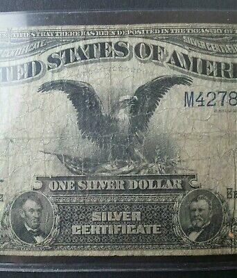 1899 $1 United States Black Eagle Silver Certificate Large Note
