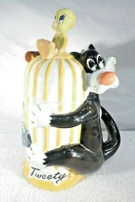 Rare Looney Tunes Tweety & Sylvester Collectible Stein Limited Edition
