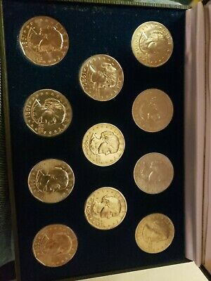 1979-1999  $1 Susan B Anthony (SBA) Dollar Complete 11 Coin P, D & S Set