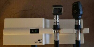 Welch Allyn 767 transformer with otoscope and opthalascope heads