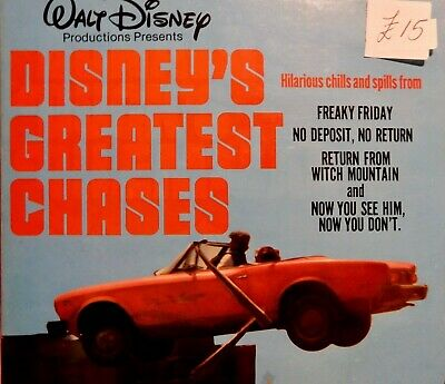 Disney's Greatest Chases Walt Disney Super 8 Home Movies 200ft