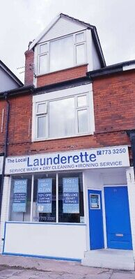 Well establish Launderette, with 2 bed apartment For Sale - Manchester