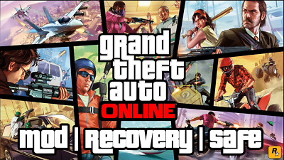 GTA 5 Online MOD / Recovery Service / Money + RP Levels / Safe / 24H Delivery