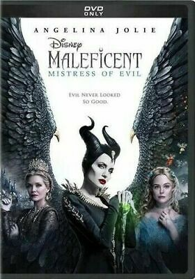 Maleficent Mistress of Evil DVD 2019 Fast Free Shipping New & Sealed