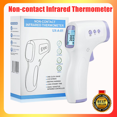IR Infrared Digital Thermometer Non-Contact Forehead Baby/Adult Body Termometer~