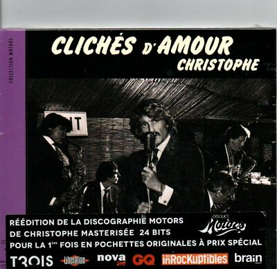"CD ""Christophe, cliches d'amour""  NEUF SOUS BLISTER"