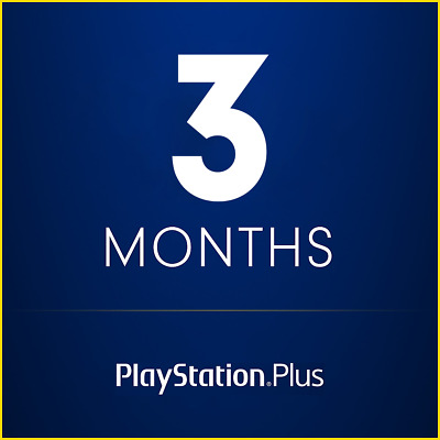 3 Months PS Plus Subscription for PS4 (NO CODE) — Instant Delivery