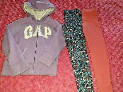 Fat Face&Gap Legginsx2 Hoodie and dress Age 6-7.