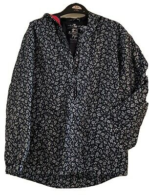 Girls anorak age 9 - 10 years/ TU/ multi/floral/shower proof/very good condition