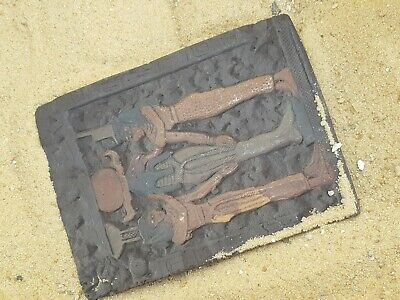 Rare Antique Ancient Egyptian Stela Gods River water Health cure Joy Dance1720BC