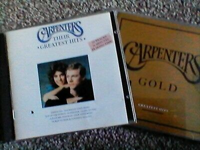 THE CARPENTERS -  2 cd set - GREATEST HITS  & Gold -  NEW SEALED