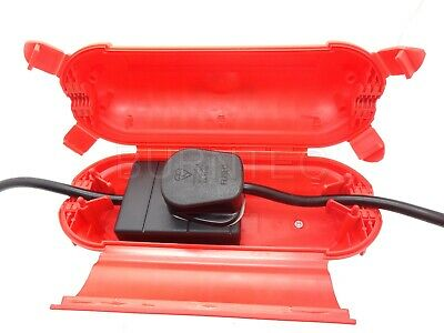 Eagle Red Outdoor Indoor Electrical Splash proof IP44 Insulated Safe Box