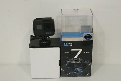 GoPro HERO7 Black 12 MP Waterproof 4K Camera Touch Screen CHDHX-701