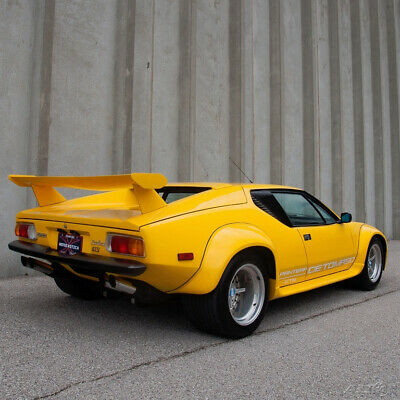 1985 De Tomaso Pantera Pantera GT5 1985 DeTomaso Pantera GT5 factory wide body, 1 of less than 200, on US title