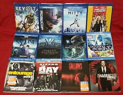LOT OF 12 - Blu Ray Movies - BRAND NEW SEALED !! Lot #1