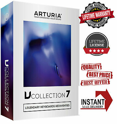 🔥Arturia V-COLLECTION 7 🔥 ℓɪfєτɪмє License 🔐 Full Version Instant Delivery 📩