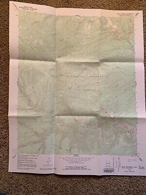 Lilley Mountain New Mexico NM USGS Topographic Map Topo 7.5 Minute Catron 1965