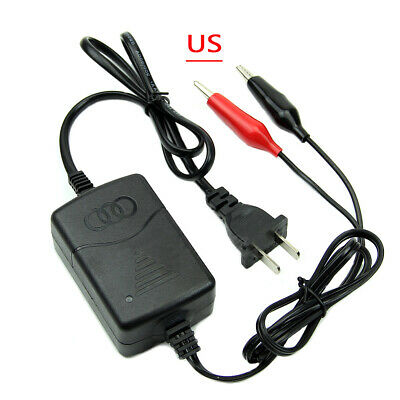 Car Truck Motorcycle 12V 1.25A Smart Compact Battery Charger Tender EU US Plug
