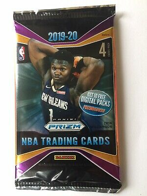 2019-2020 Panini Prizm NBA One Retail Pack from Box  Zion and Ja's  Rookie year