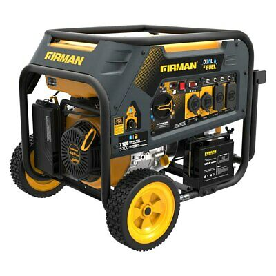 Firman Hybrid Series 5.7kW Gasoline/LPG Electric/Recoil Start Generator