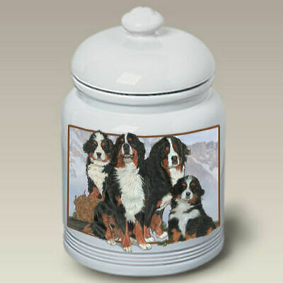 Bernese Mountain Dog Ceramic Treat Jar PS 52051