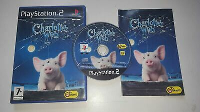 * Sony Playstation 2 Game * CHARLOTTE'S WEB * PS2