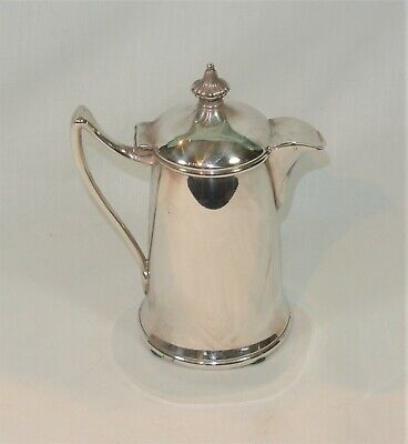 Vintage Reed & Barton Silver SYRUP PITCHER Covered Creamer Silverplate 1671