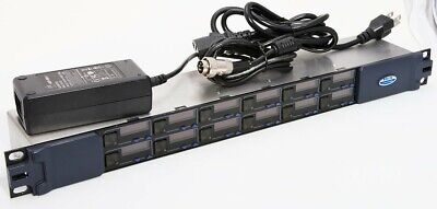 Clear-Com V-Series 12 Channel Expansion Panel V12PE For TV Broadcast Intercoms