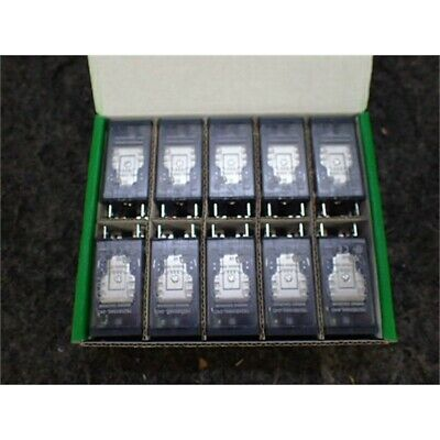 Box of 10 Schneider Electric 782XBXM4L-24D Power Relay, 15A, 24VDC, Socket Mount