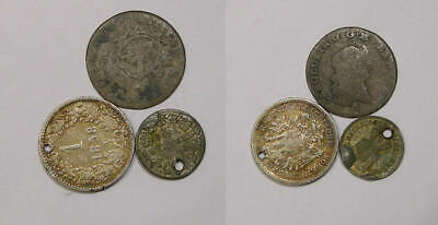 Lot 3 World Silver Coins Inv#406-80