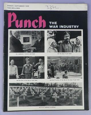 Punch Magazine 3rd September 1969 Incl. 30 Years Since WWII
