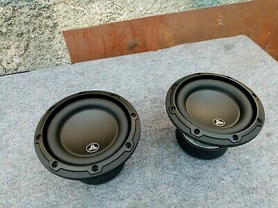 "Jl Audio 6W3V3-4 6"" 2x  Car Subwoofers"