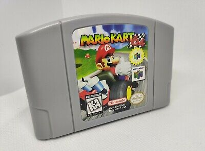 Mario Kart 64 (Nintendo 64) Video Game BRAND NEW Condition Free Shipping