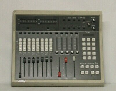 Glass Valley Group GVG Audio Control Panel #314