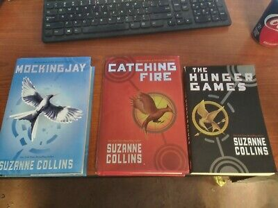 The Hunger Games Set Mixed Book Lot