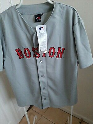 RARE BOSTON RED SOX Baseball Majestic Jersey (size XL NEW WITH TAGS