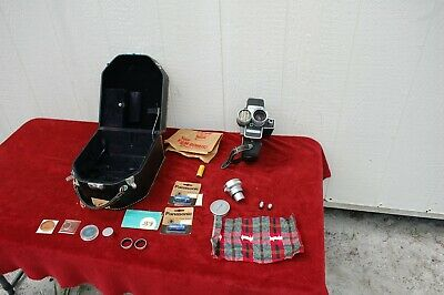 Bell & Howell Sixteen Mm 240 Automatic Exposure Control Camera, Works.
